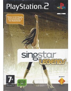 SINGSTAR LEGENDS for Playstation 2 PS2
