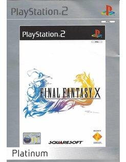 FINAL FANTASY X (10) voor Playstation 2