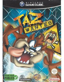 TAZ WANTED for Nintendo Gamecube