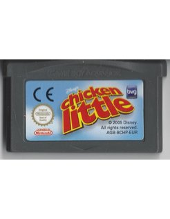 CHICKEN LITTLE for Game Boy Advance GBA