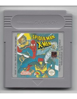 SPIDER-MAN X-MEN voor Nintendo Game Boy