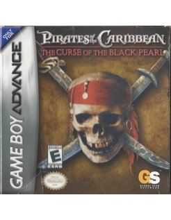 PIRATES OF THE CARIBBEAN THE CURSE OF THE BLACK PEARL for Game Boy Advance