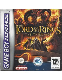 THE LORD OF THE RINGS - THE THIRD AGE for Game Boy Advance