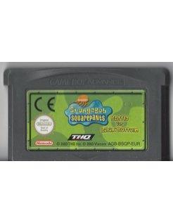SPONGEBOB SQUAREPANTS - BATTLE FOR BIKINI BOTTOM voor Game Boy Advance
