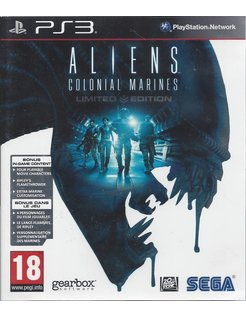 ALIENS COLONIAL MARINES voor Playstation 3 PS3