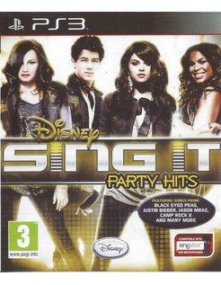 SING IT PARTY HITS for Playstation 3