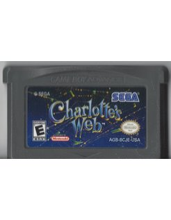 CHARLOTTE'S WEB for Game Boy Advance GBA