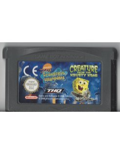 SPONGEBOB SQUAREPANTS CREATURE FROM THE KRUSTY KRAB for Game Boy Advance GBA