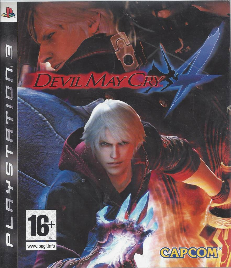 DEVIL MAY CRY 4 for Playstation 3 PS3