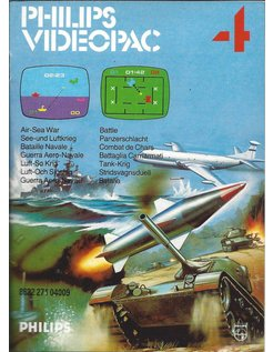 PHILIPS VIDEOPAC G7000 GAME 4 - AIR SEA WAR - BATTLE