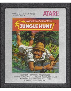 JUNGLE HUNT für Atari 2600
