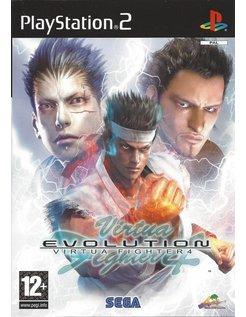 VIRTUA FIGHTER 4 EVOLUTION voor Playstation 2 PS2