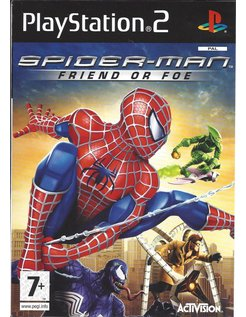 SPIDER-MAN FRIEND OR FOE für Playstation 2 PS2