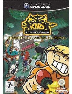 CODENAME KIDS NEXT DOOR OPERATION VIDEOGAME voor Nintendo Gamecube