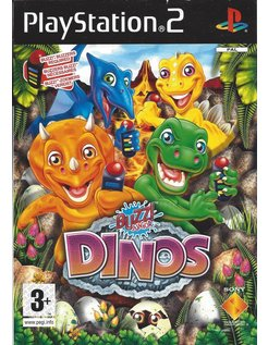 BUZZ JUNIOR DINOS - DINO DEN for Playstation 2 PS2
