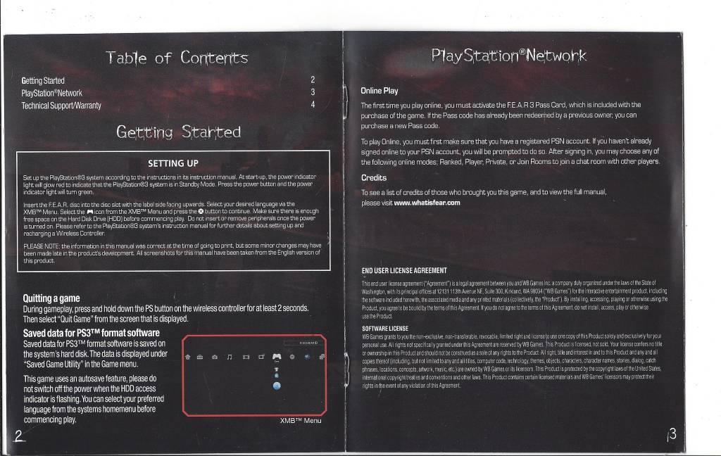 Sony ps3 user manual.