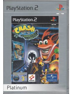 CRASH BANDICOOT THE WRATH OF CORTEX for Playstation 2