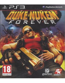DUKE NUKEM FOREVER voor Playstation 3