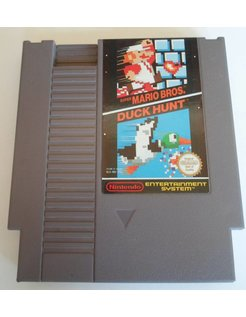 SUPER MARIO BROS and DUCK HUNT for Nintendo NES