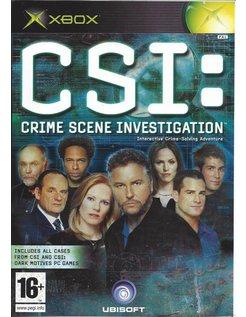 CSI CRIME SCENE INVESTIGATION for Xbox
