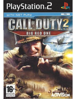 CALL OF DUTY 2 BIG RED ONE für Playstation 2