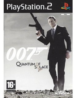 007 QUANTUM OF SOLACE for PlayStation 2 PS2