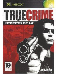 TRUE CRIME STREETS OF LA for Xbox