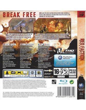 Red faction guerrilla cd