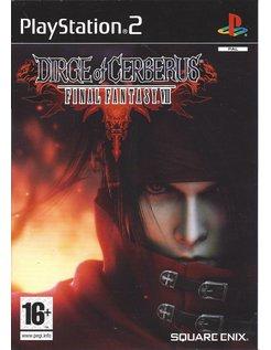 DIRGE OF CERBERUS - FINAL FANTASY VII (7) voor Playstation 2 PS2