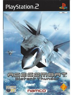 ACE COMBAT DISTANT THUNDER for Playstation 2 PS2