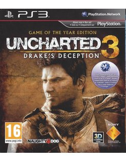 UNCHARTED 3 DRAKE'S DECEPTION - GOTY EDITION for Playstation 3 PS3