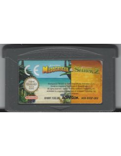 DOUBLE PACK MADAGASCAR & SHREK 2 for Game Boy Advance