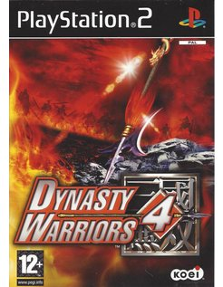 DYNASTY WARRIORS 4 voor Playstation 2