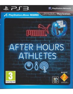 AFTER HOURS ATHLETES for Playstation 3 PS3