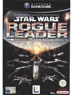 STAR WARS ROGUE LEADER - ROGUE SQUADRON II for Gamecube