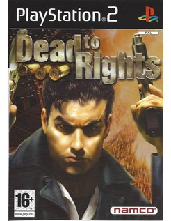 DEAD TO RIGHTS voor Playstation 2 - manual in NL