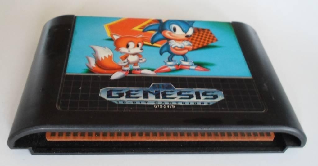 Sonic The Hedgehog 2 For Sega Genesis Worldwide Shipping
