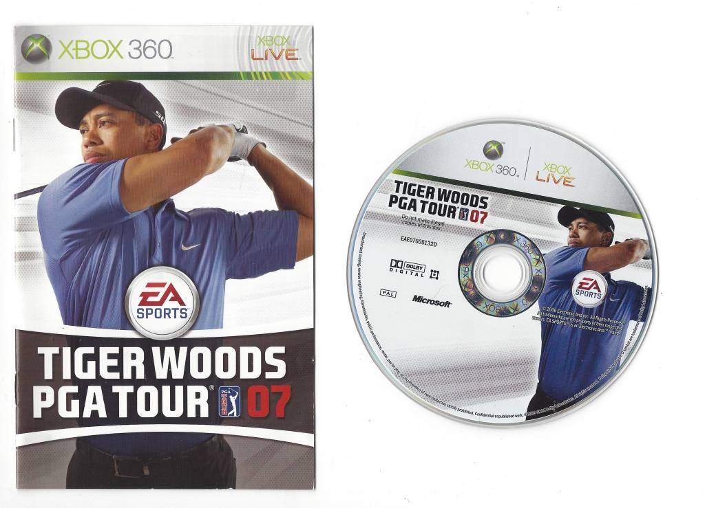 tiger woods pga tour 07 instruction manual