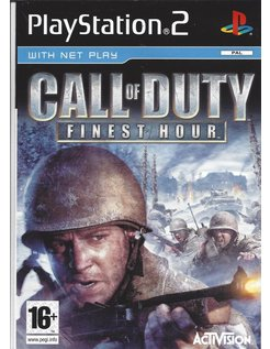 CALL OF DUTY FINEST HOUR für Playstation 2 PS2