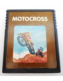 MOTOCROSS für Atari 2600