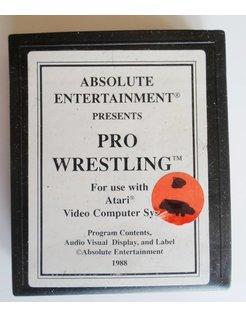 PRO WRESTLING for Atari 2600