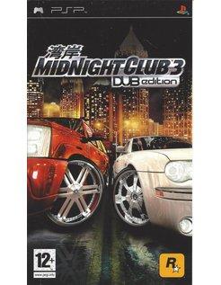 MIDNIGHT CLUB 3 DUB EDITION for PSP