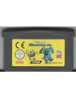 MONSTERS INC for Game Boy Advance