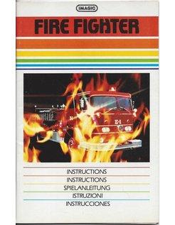 MANUAL voor ATARI 2600 GAME CARTRIDGE FIRE FIGHTER