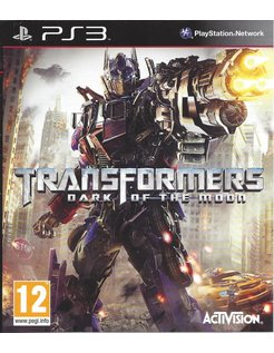 TRANSFORMERS DARK OF THE MOON for Playstation 3
