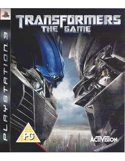 TRANSFORMERS THE GAME for Playstation 3