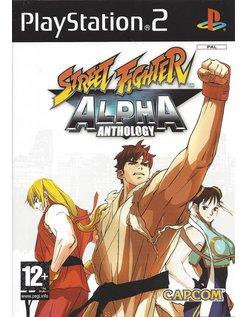 STREET FIGHTER ALPHA ANTHOLOGY voor Playstation 2