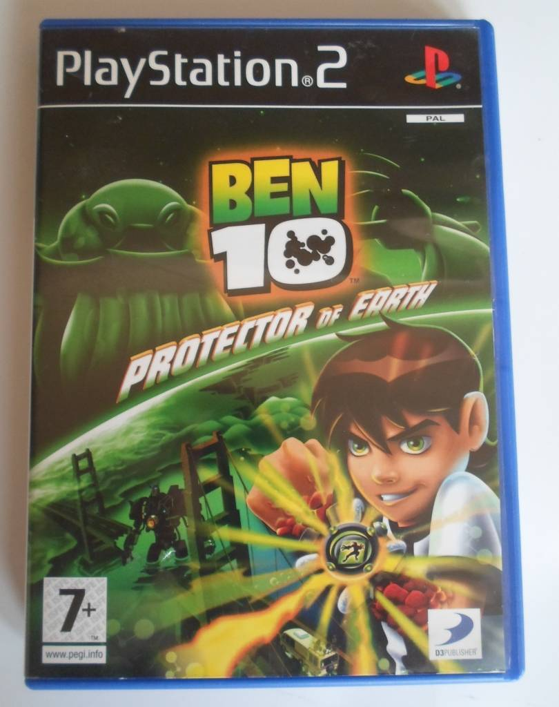 Ben 10: protector of earth (ps2): amazon. Co. Uk: pc & video games.