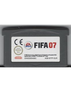 FIFA 07 for Game Boy Advance
