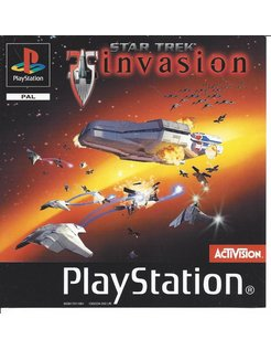 STAR TREK INVASION for Playstation 1